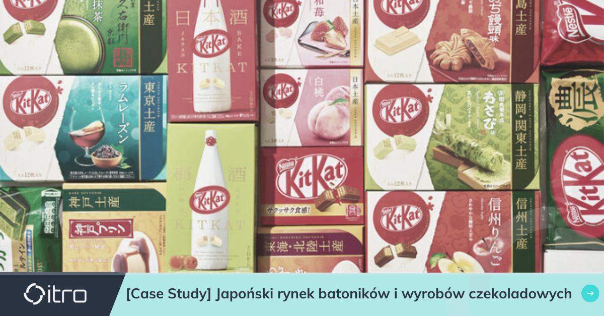 Jak KitKat podbił rynek japoński?