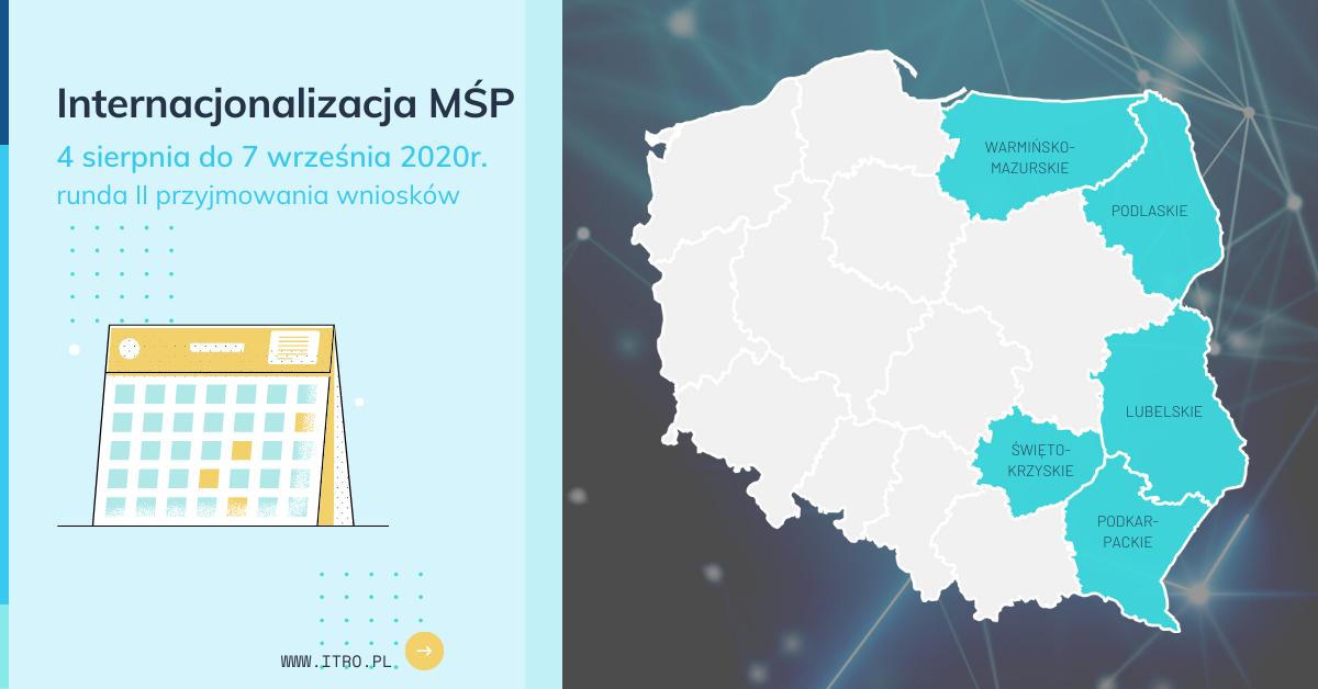 Nabór do konkursu na dofinansowanie POPW 1.2 Internacjonalizacja MŚP kończy się za 2 dni – runda II już w sierpniu!