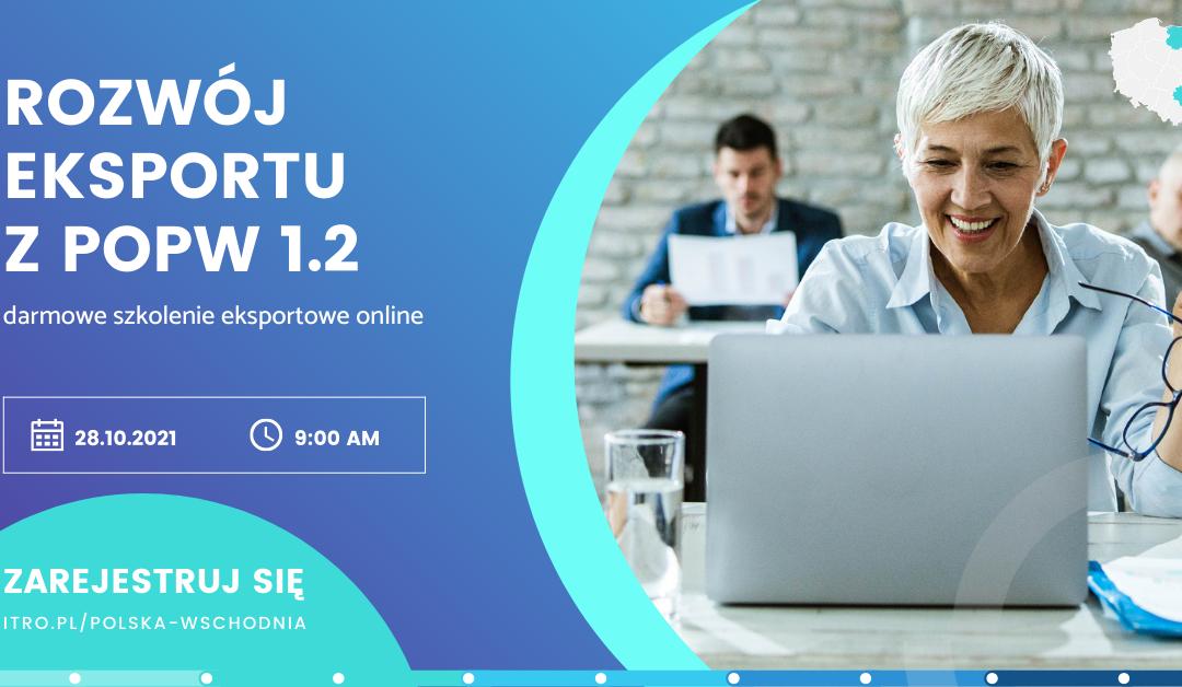 [Szkolenie online] Rozwój eksportu z POPW 1.2
